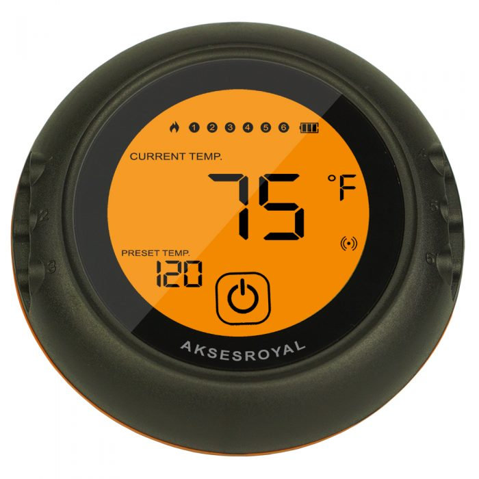 Wireless Meat Thermometer AKSESROYAL RBQ-07B