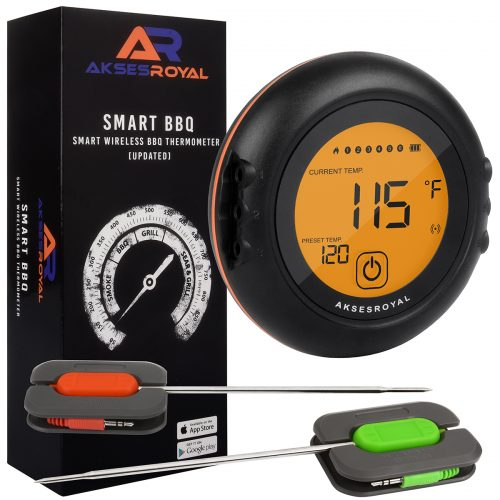Bluetooth Meat Thermometer with 6 probes
