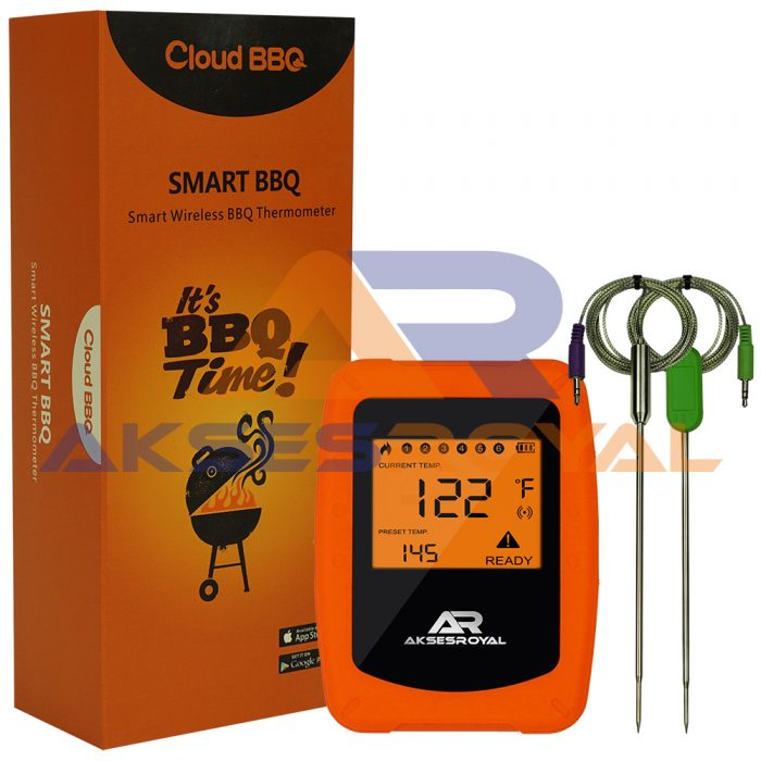 Wireless Meat Thermometer AKSESROYAL